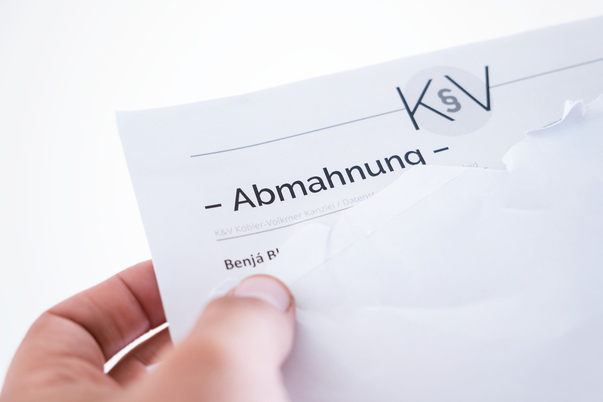 Webdesign Ahrensburg - Abmahnungen